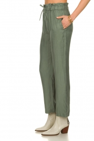 JC Sophie |  Trousers with drawstring Camden | green  | Picture 4