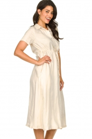 JC Sophie |  Dress with drawstring Cameo | natural  | Picture 6