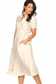 JC Sophie |  Dress with drawstring Cameo | natural  | Picture 4