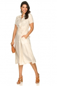 JC Sophie |  Dress with drawstring Cameo | natural  | Picture 3