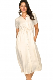 JC Sophie |  Dress with drawstring Cameo | natural  | Picture 5