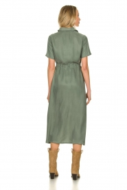 JC Sophie |  Dress with drawstring Cameo | green  | Picture 5