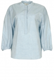 JC Sophie |  Blouse Cammy | blue  | Picture 1