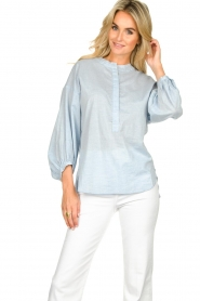 JC Sophie |  Blouse Cammy | blue  | Picture 4
