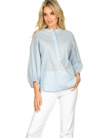 JC Sophie |  Blouse Cammy | blue  | Picture 2