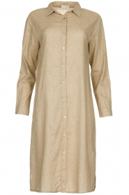 JC Sophie |  Blouse dress Cecily | brown  | Picture 1