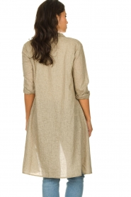 JC Sophie |  Blouse dress Cecily | brown  | Picture 5