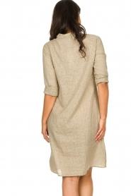 JC Sophie | Blouse jurk Cecily | bruin   | Afbeelding 7