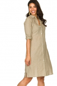 JC Sophie |  Blouse dress Cecily | brown  | Picture 4