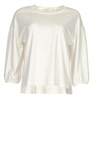 JC Sophie |  Top with bow detail Channing | white  | Picture 1