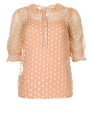 JC Sophie |  Blouse with embroidery Charley | pink  | Picture 1