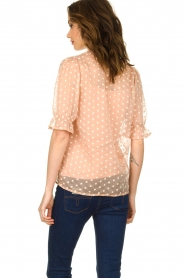 JC Sophie |  Blouse with embroidery Charley | pink  | Picture 5