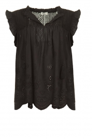 JC Sophie |  Embroidery top Chassie | black  | Picture 1