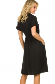 JC Sophie |  Dress with ruffles Cheryl | black  | Picture 7