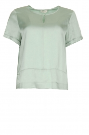JC Sophie    Satin blouse Chili   green    Picture 1