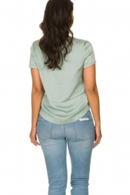 JC Sophie |  Satin blouse Chili | green  | Picture 5