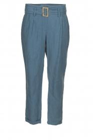JC Sophie |  Paper bag pants Chrissy | blue  | Picture 1