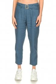 JC Sophie |  Paper bag pants Chrissy | blue  | Picture 4
