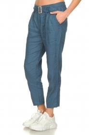 JC Sophie |  Paper bag pants Chrissy | blue  | Picture 5