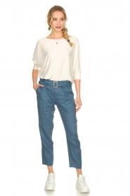 JC Sophie |  Paper bag pants Chrissy | blue  | Picture 3