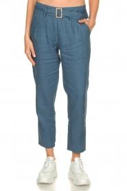 JC Sophie |  Paper bag pants Chrissy | blue  | Picture 2