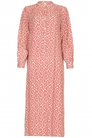 JC Sophie |  Printed maxi dress Christen | pink  | Picture 1