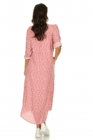 JC Sophie |  Printed maxi dress Christen | pink  | Picture 4