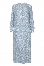 JC Sophie |  Printed maxi dress Christen | blue  | Picture 1