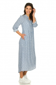 JC Sophie |  Printed maxi dress Christen | blue  | Picture 3