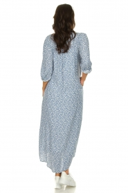 JC Sophie |  Printed maxi dress Christen | blue  | Picture 4