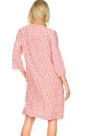 JC Sophie |  Midi dress with flower print Christiana | red  | Picture 6