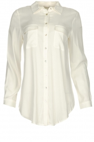 JC Sophie |  Basic blouse Clair | white  | Picture 1