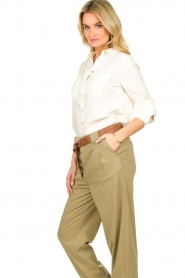 JC Sophie |  Basic blouse Clair | white  | Picture 4