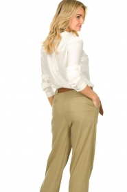 JC Sophie |  Basic blouse Clair | white  | Picture 5