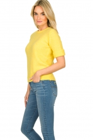 JC Sophie |  Sweater with short sleeves Cardiff | yellow  | Picture 3