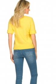 JC Sophie |  Sweater with short sleeves Cardiff | yellow  | Picture 4