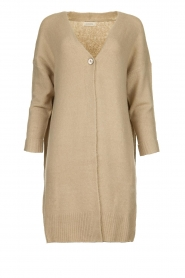 JC Sophie |  Knitted cardigan Caresse | beige  | Picture 1