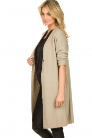 JC Sophie |  Knitted cardigan Caresse | beige  | Picture 4