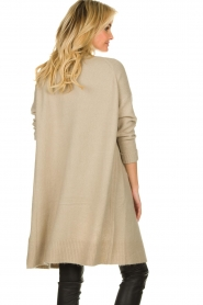 JC Sophie |  Knitted cardigan Caresse | beige  | Picture 5