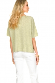 JC Sophie |  Sweater with short sleeves Carnation | green  | Picture 7