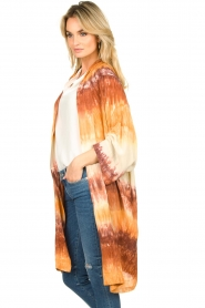 Rabens Saloner |  Tie dye kimono Maide | orange  | Picture 5