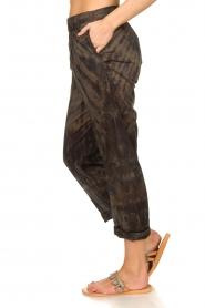 Rabens Saloner |  Cotton tie dye pants Lily | grey  | Picture 6
