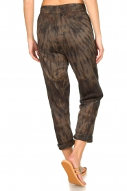 Rabens Saloner |  Cotton tie dye pants Lily | grey  | Picture 7