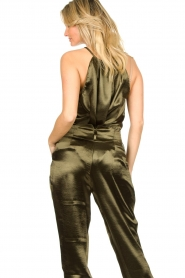 Rabens Saloner |  Metallic top Anuki | green  | Picture 6