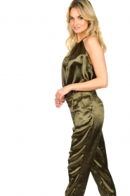 Rabens Saloner |  Metallic top Anuki | green  | Picture 5