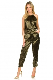 Rabens Saloner |  Metallic top Anuki | green  | Picture 3