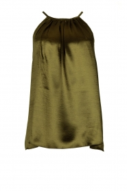 Rabens Saloner |  Metallic top Anuki | green  | Picture 1