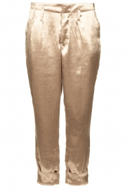 Rabens Saloner    Metallic pants Anya   gold    Picture 1