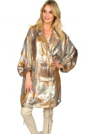Rabens Saloner |  Metallic jacket Randy | metallic  | Picture 4