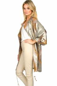 Rabens Saloner |  Metallic jacket Randy | metallic  | Picture 5
